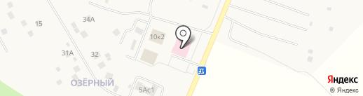 Ершовская сельская амбулатория на карте Ершово