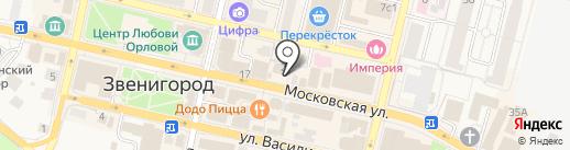 Fabretti на карте Звенигорода