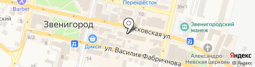 Tele2 на карте Звенигорода