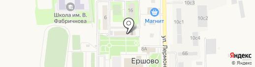 Банкомат, Банк Возрождение, ПАО на карте Ершово
