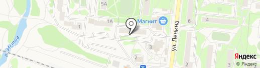 Кормилец на карте Истры
