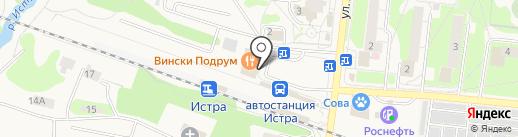 МегаФон на карте Истры