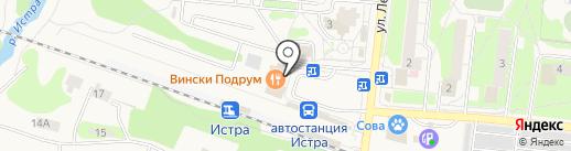 Самовар на карте Истры