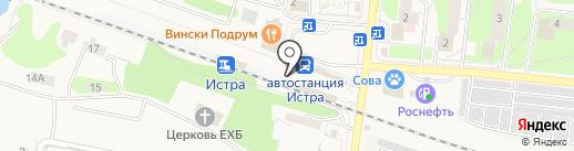 ПрессЛайн на карте Истры