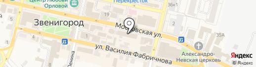 ИНЖЕНЕРНЫЙ ЦЕНТР на карте Звенигорода