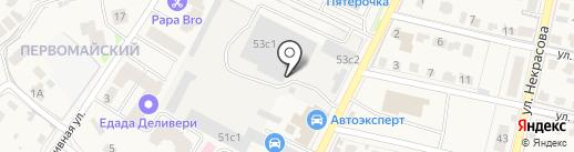 Художественная школа-студия на карте Звенигорода