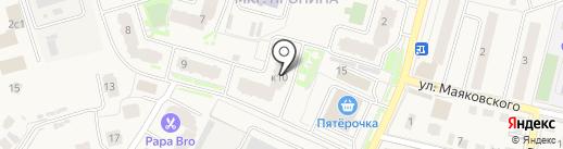 Управление и эксплуатация на карте Звенигорода
