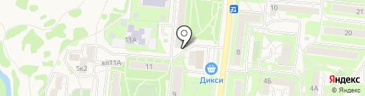 Нотариус Хрянина Л.Л. на карте Истры