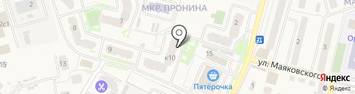 Участковый пункт полиции №23 на карте Звенигорода