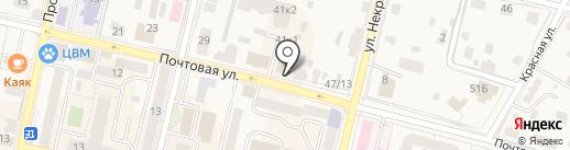 Радуга на карте Звенигорода
