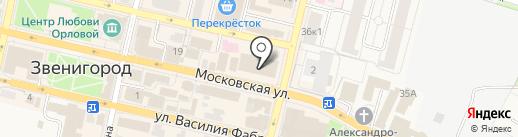 РЕСО-Гарантия, ОСАО на карте Звенигорода