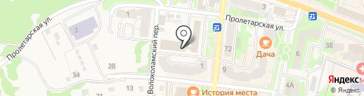 Объединенные переводчики на карте Истры
