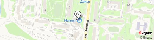 Автокэш на карте Истры