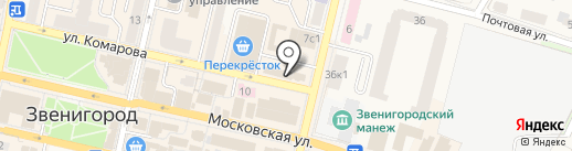 Медовая лавка на карте Звенигорода