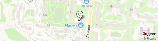 Киоск бытовых услуг на карте Истры