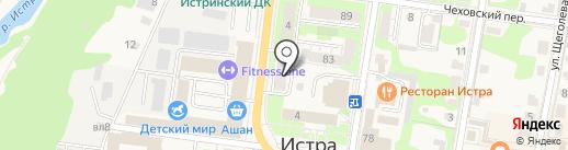 Управление по надзору за техническим состоянием самоходных машин и других видов техники Министерства сельского хозяйства и продовольствия Московской области на карте Истры