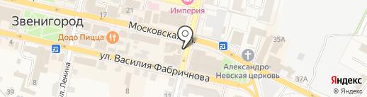 У Палыча на карте Звенигорода