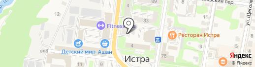 Прокуратура г. Истра на карте Истры