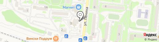 ИСТРА-ДЕНТ на карте Истры