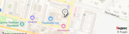 Овощи и фрукты на карте Звенигорода