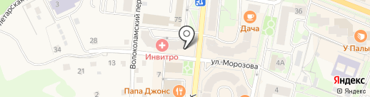 ОРТЕКА на карте Истры