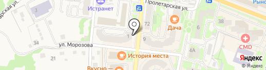 Презент на карте Истры