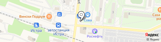 CyberPlat на карте Истры