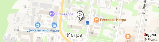 IstraNet на карте Истры