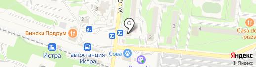 Виттас на карте Истры