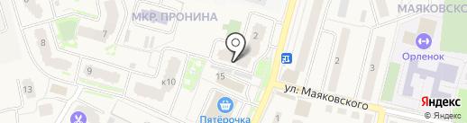 Флайт Фарм на карте Звенигорода