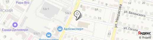 Защита на карте Звенигорода