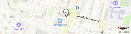 Банк Воронеж на карте Звенигорода