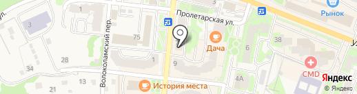 Электрон на карте Истры