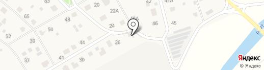 Санэлит на карте Истры