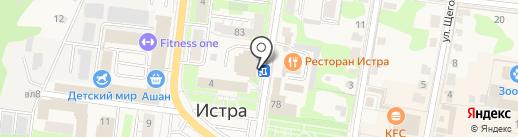 Банк Возрождение, ПАО на карте Истры