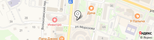 EXIST на карте Истры