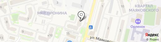 Звенигородские окна на карте Звенигорода