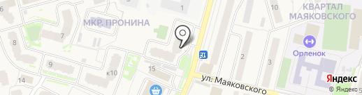 Михальченко на карте Звенигорода