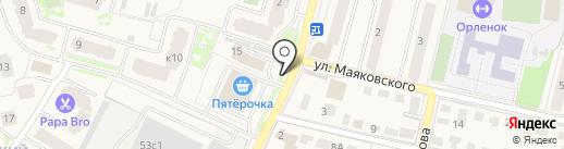 Магазин кондитерских изделий на карте Звенигорода