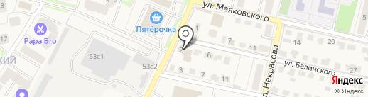 Жилищное агентство на карте Звенигорода