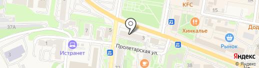 ТОН на карте Истры