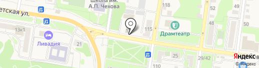Инспекция Федеральной налоговой службы России по г. Истре на карте Истры