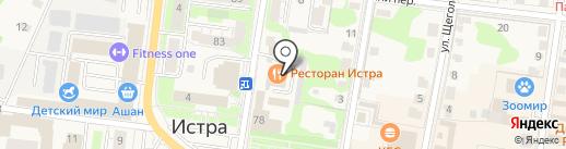 КБ Геобанк на карте Истры