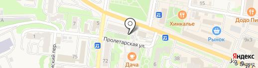 Фалькон на карте Истры