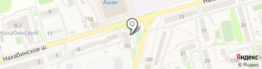 Сбербанк, ПАО на карте Звенигорода