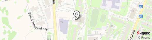 Гефарма на карте Истры