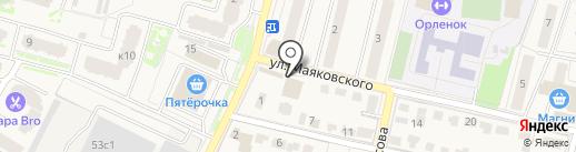 Магазин фруктов и овощей на карте Звенигорода