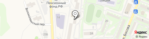 Элитэ на карте Истры