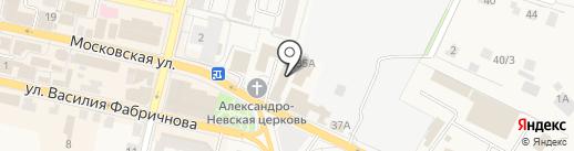 Мясницкий ряд на карте Звенигорода