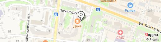 PROHOROF Style на карте Истры